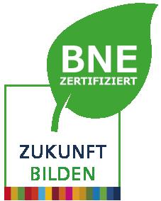 Siegel BNE zertifiziert - Zukunft bilden