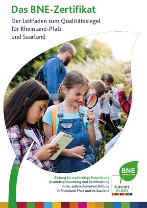 Titelseite Leitfaden BNE Rheinland-Pfalz und Saarland